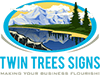 Twin Trees Signs Logo