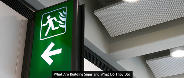 What Are Building Signs and What Do They Do?