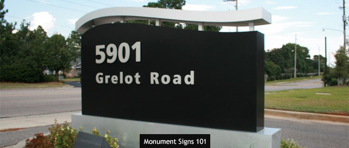 Monument Signs 101