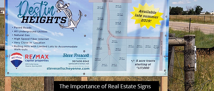 The Importance of Real Estate Signs